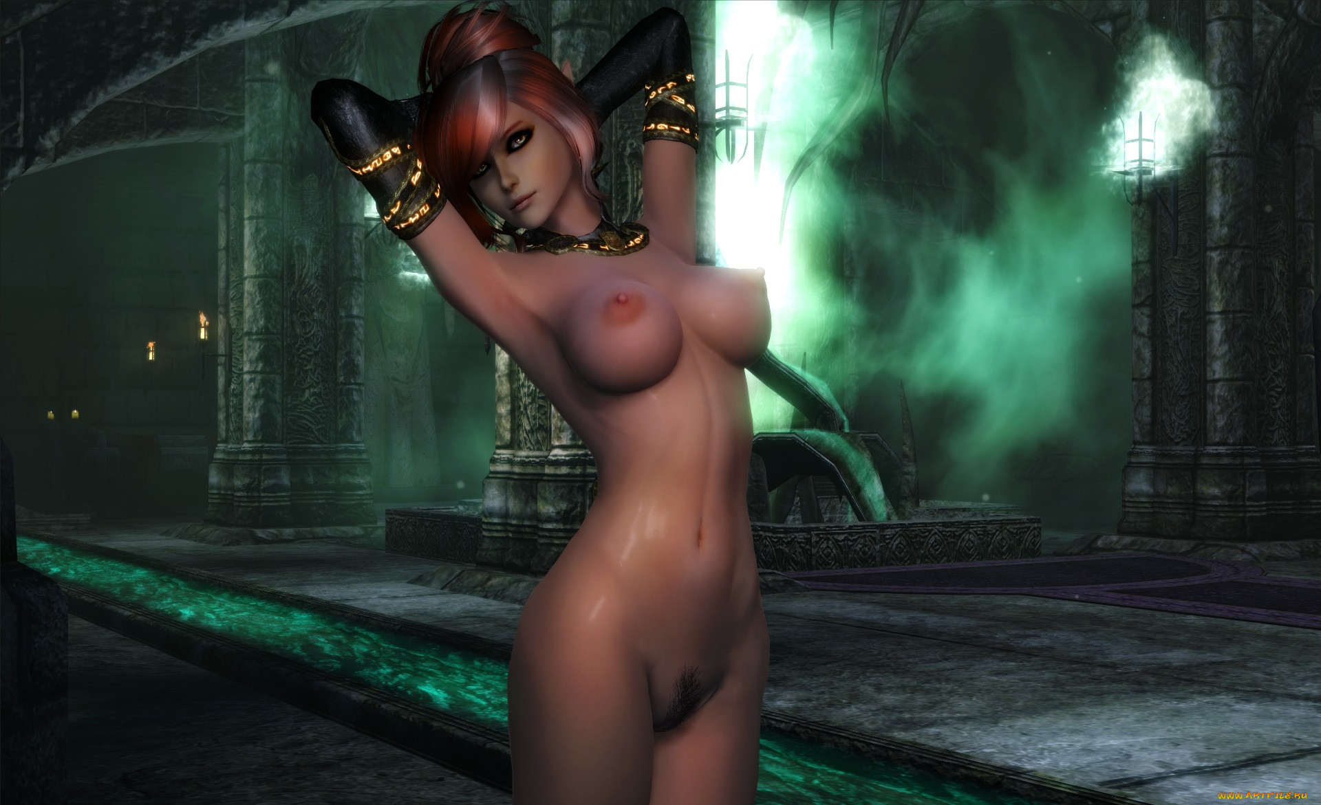 Free skyrim nude mods pics softcore clips